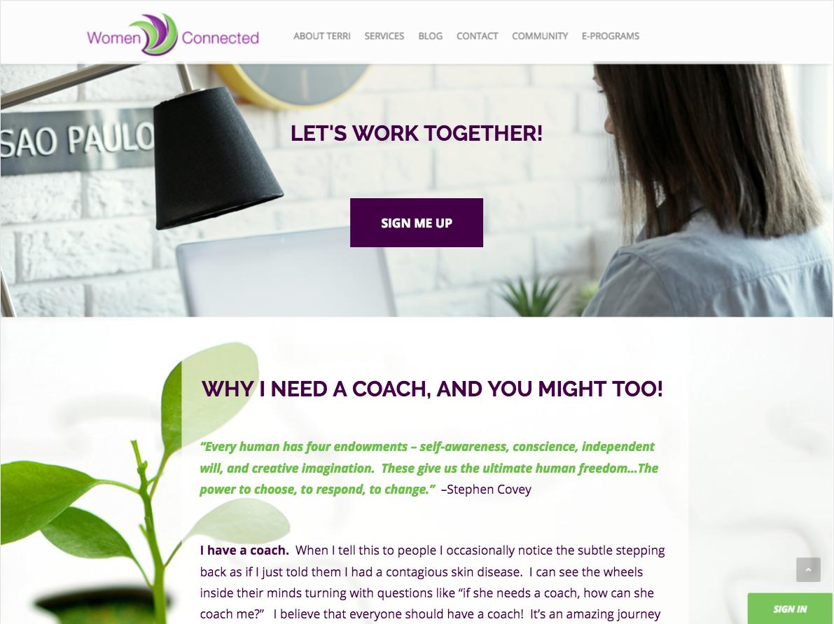 Women Connected- Coaching