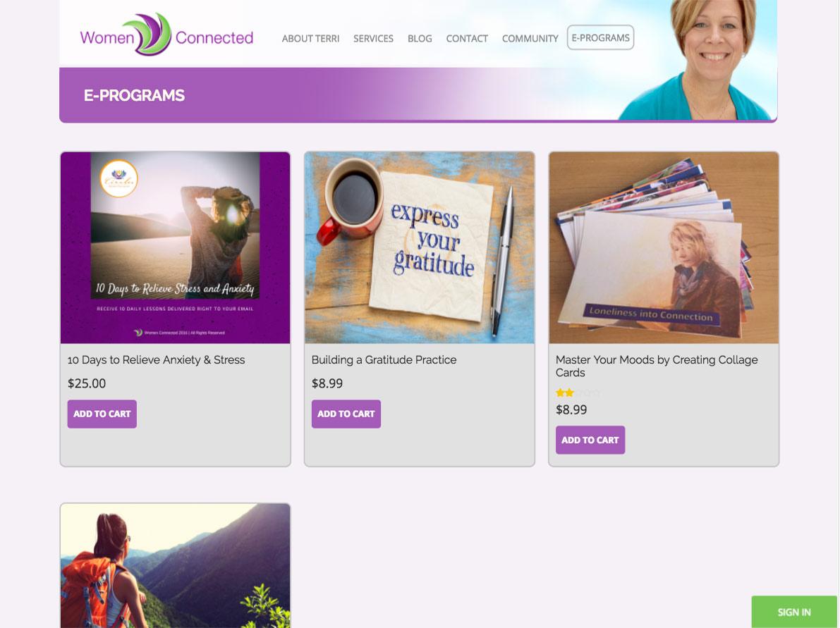 Women Connected Shop